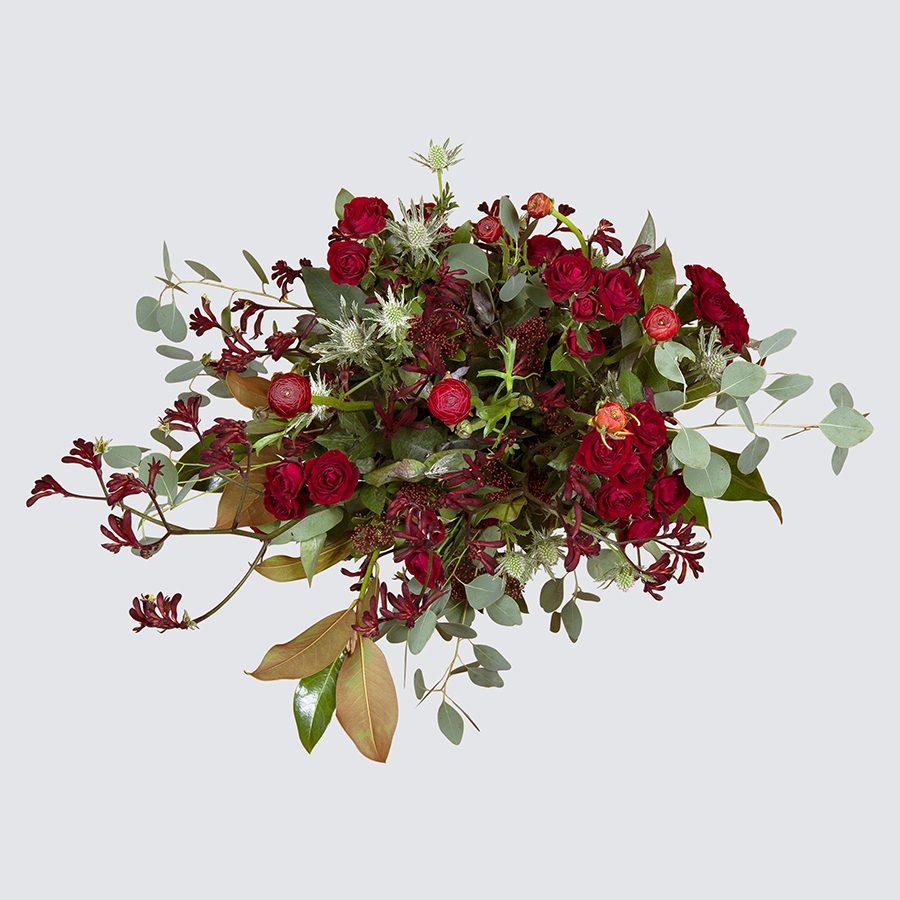 flores-hojas-centro-mesa-valencia