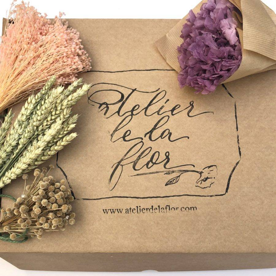 caja-otoñal-flor-preservada